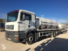 MAN TGA 26.360 trailer truck used tanker
