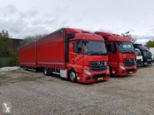Mercedes Actros 1843 trailer truck used tautliner