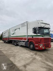 Lastbil med anhænger køleskab monotemperatur Scania R 500
