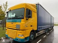 Lastbil med anhænger glidende gardiner DAF XF105 460