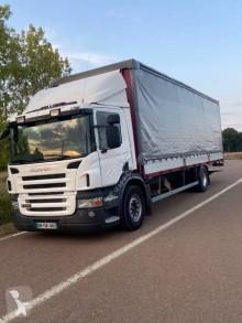 Camión remolque tautliner (lonas correderas) Scania P 230
