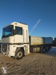 Renault three-way side tipper truck Magnum 480