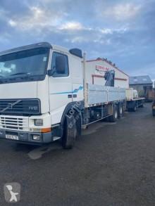 Camión remolque Volvo F12 420 caja abierta teleros usado
