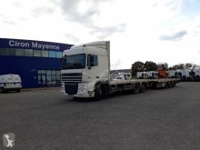 DAF straw carrier flatbed trailer truck XF105 510