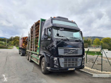 Volvo timber trailer truck FH16 750