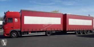 Camión remolque DAF XF105 460 lonas deslizantes (PLFD) usado