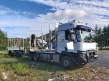 Renault Kerax 520.26 trailer truck used timber
