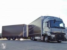 Camión remolque Renault T 480 / JUMBO 120 M3 / RETARDER/ VEHICULAR/ACC lonas deslizantes (PLFD) usado