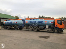 Renault Premium trailer truck used oil/fuel tanker