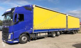 Lastbil med anhænger Volvo FH 460 Globetrotter glidende gardiner brugt