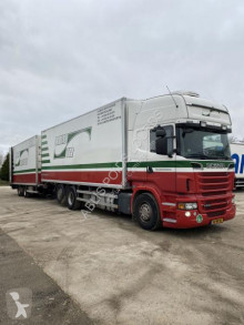 Scania R 500 trailer truck used mono temperature refrigerated