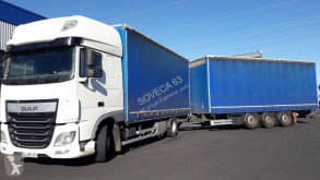 Camion remorque DAF XF 460 SSC rideaux coulissants (plsc) occasion