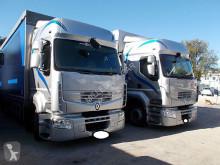 Vrachtwagen met aanhanger Renault Premium Renault - PREMIUM 450 BIGA 8.10+7.60 MEGA EURO 5 MANUALE - Autotreno a Telone scorrevole tweedehands Schuifzeilen