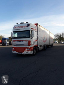 Camion remorque DAF XF 460 rideaux coulissants (plsc) occasion