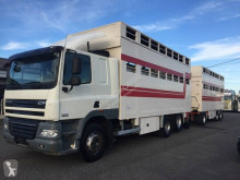Camion cu remorca DAF CF85 510 remorcă transport animale second-hand