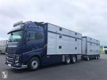 Volvo FH trailer truck used livestock trailer