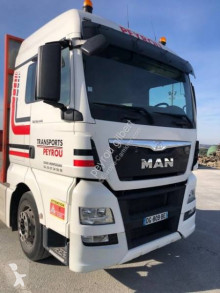 MAN TGX 18.440 XLX trailer truck used flatbed