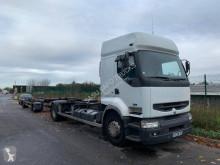 Camion cu remorca Renault Premium 370.19 transport containere second-hand
