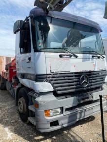 Mercedes flatbed trailer truck Actros