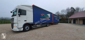 DAF XF105 460 trailer truck used tautliner