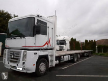 Renault Magnum 440 DXI trailer truck used flatbed