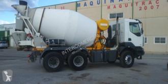 Renault bulk cement tanker trailer truck Kerax 410