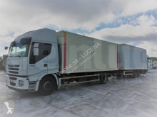 Iveco plywood box trailer truck Stralis 440 S 45