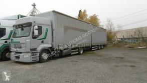 Kamion s návěsem posuvné závěsy Renault Premium 450