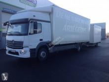 Camion remorque fourgon déménagement Mercedes Atego