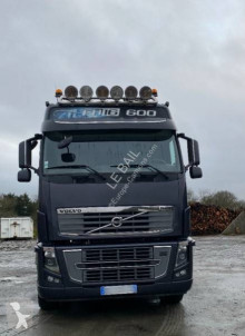 Volvo FH16 600 trailer truck used hook lift