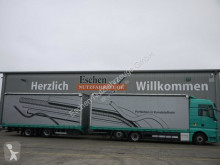 Kamion s návěsem posuvné závěsy MAN TGX 26.440 6x2-2 LL Jumbo, Robert Anhänger 2015