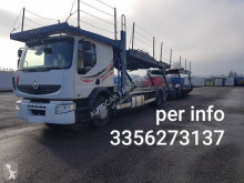 Renault Premium 450 trailer truck used car carrier