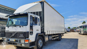 Volvo FL6 trailer truck used tautliner