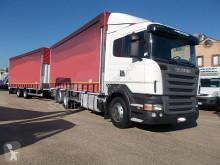 Camion remorque Scania R420 SCANIA AUTOTRENO BIGA ALZA E BASSA DISCOMA occasion