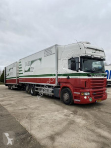 Scania mono temperature refrigerated trailer truck R R 500