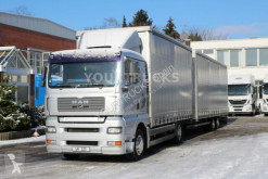 MAN TGA 18.440 EURO 5/Durchlade/Analog Tacho/ZUG trailer truck used tautliner