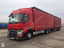 Renault Gamme T 480 P6X2 LOW 26T E6 trailer truck used tautliner