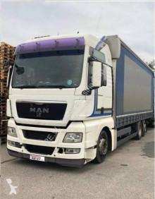 Camion remorque MAN TGX 26.440 rideaux coulissants (plsc) occasion