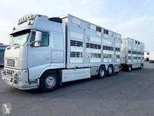 Camion remorque Volvo FH bétaillère occasion