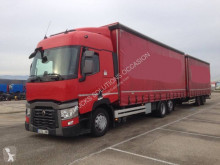 Renault T-Series 480 trailer truck used tautliner
