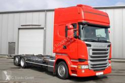 Camion Scania R 410 6X2 BDF Jumbo Topline Standklima etade telaio usato