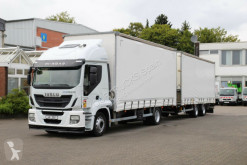 Camion remorque Iveco Stralis 360 EEV /Durchlade/Jumbo ZUG rideaux coulissants (plsc) occasion