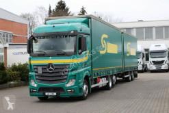 Camion remorque rideaux coulissants (plsc) Mercedes Actros 2545 E6 MP4 /Retarder/Lenkachse/Jumbo ZUG