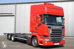 Scania R 410 6X2 BDF Jumbo Topline Standklima etade truck used chassis