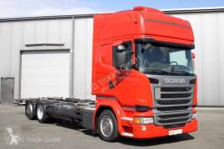 Camion châssis Scania R 410 6X2 BDF Jumbo Topline Standklima etade