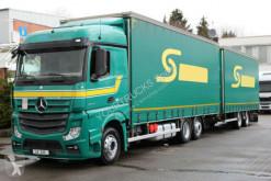 Camión remolque lonas deslizantes (PLFD) Mercedes Actros 2545 E6 MP4 /Retarder/Lenkachse/Jumbo ZUG