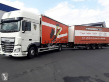 Camion remorque DAF XF 510 rideaux coulissants (plsc) occasion