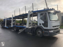 Camion remorque Renault Premium 300 porte voitures occasion