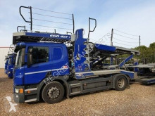 Scania P 410 trailer truck used car carrier