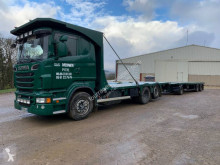 Scania straw carrier flatbed trailer truck R 560